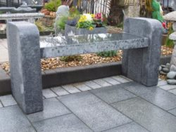 Bookend Design Garden Bench