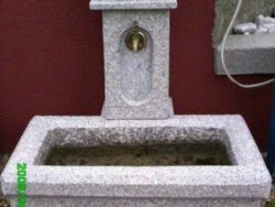 Rectangular Self Contained Tap Water Feature