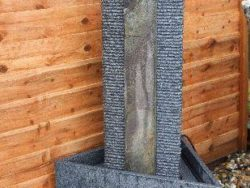 Triangular Column Self Contained Water Feature