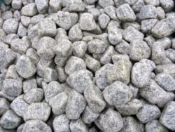 WHITE GRANITE COBBLES