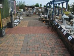 STANDARD PAVING BRICK DISPLAY