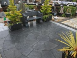 Granite Circle Dark Grey