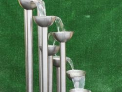 STAINLESS STEEL 9 DROP WATER FEATURE