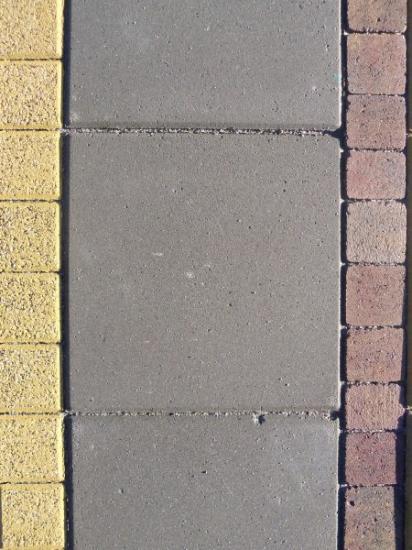 Standard paving slab in Grey