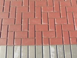STANDARD PAVING BRICK RED