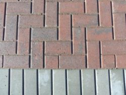 PAVING BRICK MULTI RED