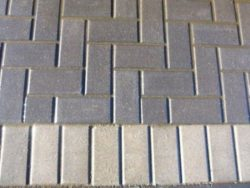 STANDARD PAVING BRICK CHARCOAL