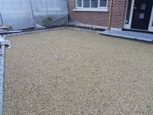 Gravel Mat Project Finished