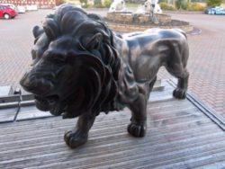 Cast Aluminium Lion