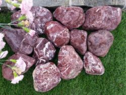Burgundy Red Cobbles 80-130mm