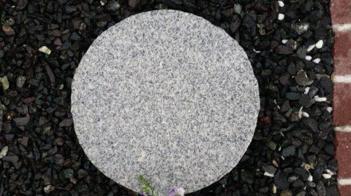 Silver Granite Stepping Stones