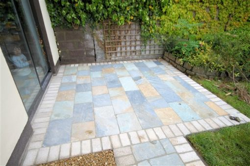 Aqua Gold Quartz Patio