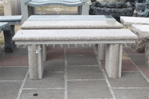 BC07 PINK GRANITE BENCHES