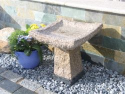Natural Stone Bird-Baths